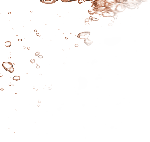Rose gold water drops 1