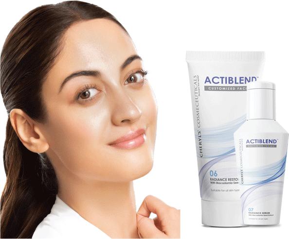 Actiblend - Radiance Restore Serum & Mask