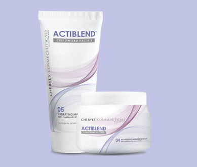 Actiblend - Step 5 - Massage Cream | Normal to Dry Skin or Massage Gel | Normal to Oily Skin